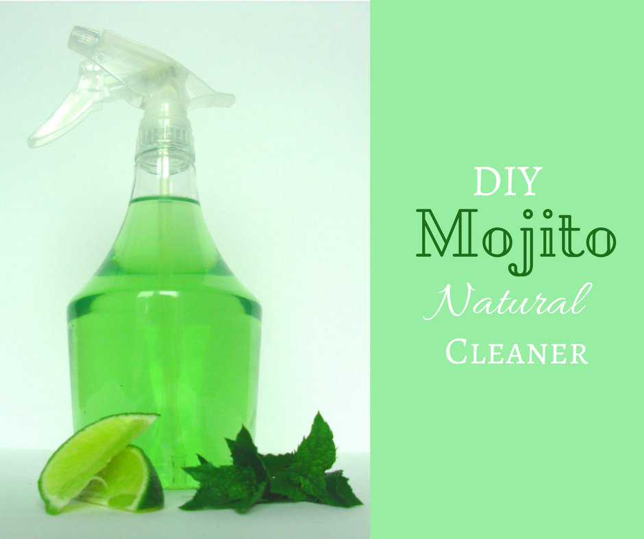 DIY Mojito Flavoured Natural Cleaner